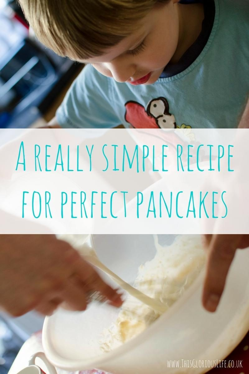 A really simple recipe for perfect pancakes