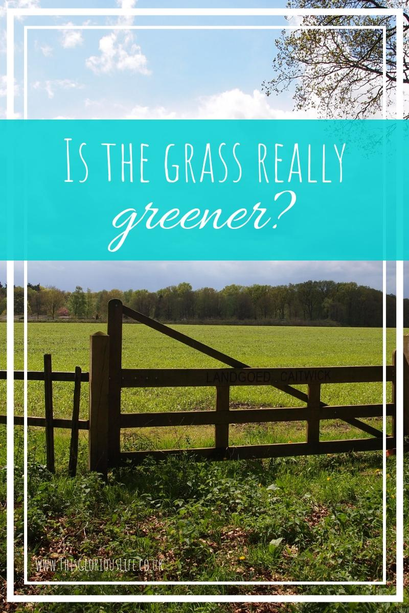 Is the grass really greener_