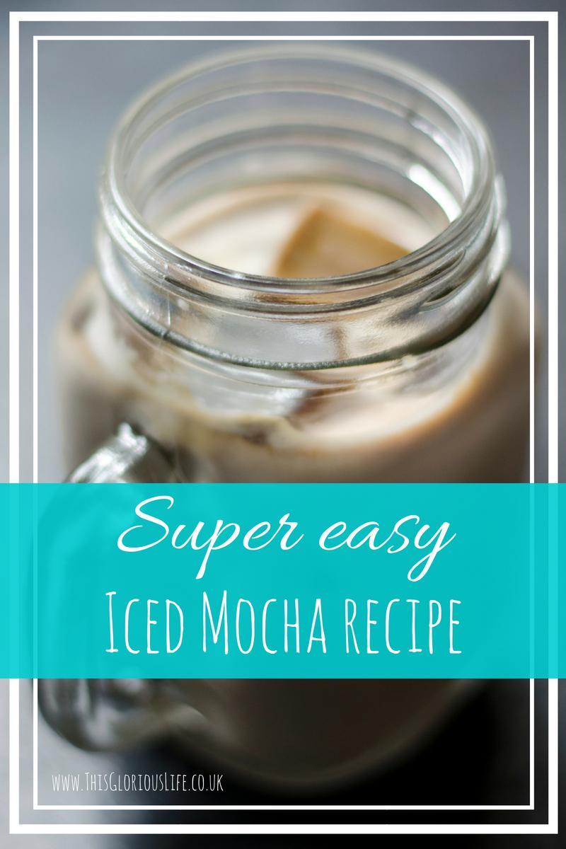 Super easy iced mocha recipe