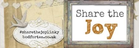 Share the Joy linky at bodfortea.co.uk