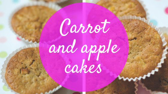 Carrot and apple cake recipe
