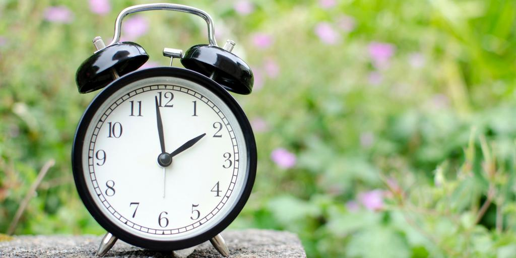 Coping with losing the extra hour in bed when you're a parent
