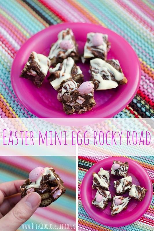 Easter mini egg rocky road