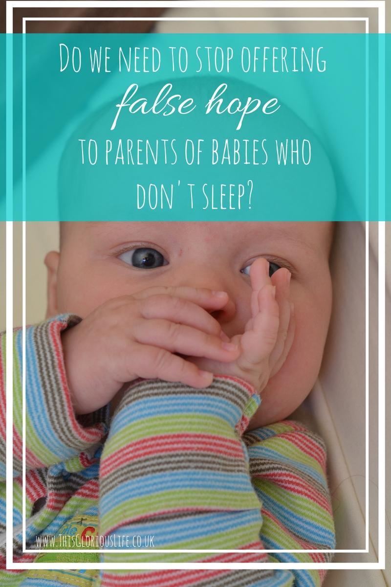 offer false hope parents babies don't sleep (1)