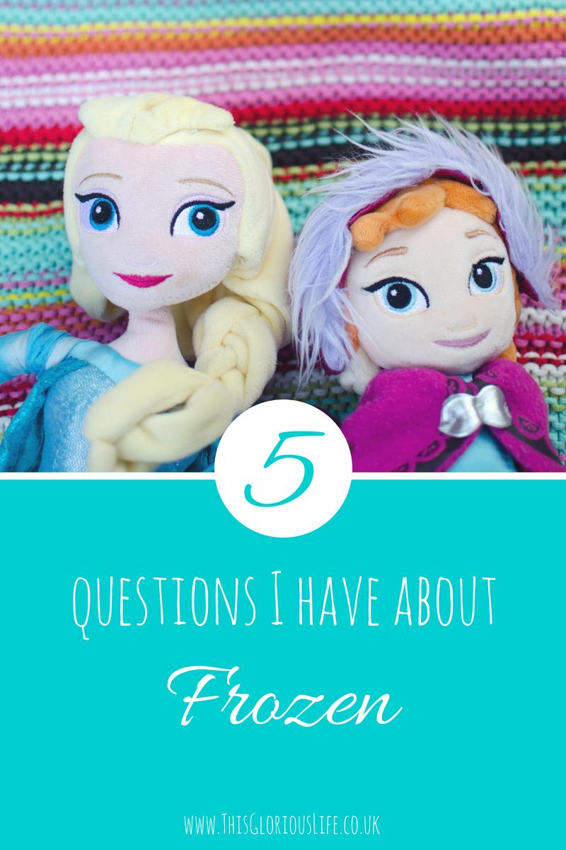 5 questions I have about Frozen