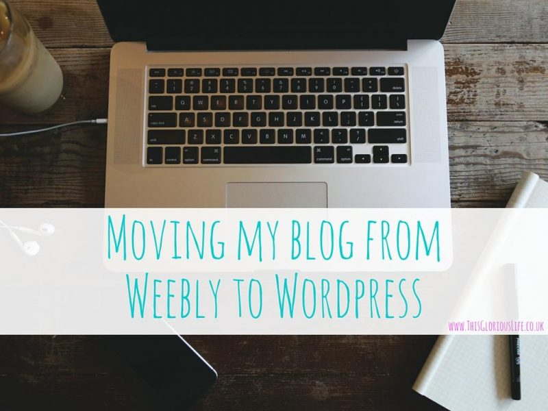 moving blog weebly wordpress