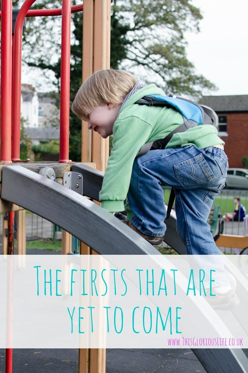 the firsts that are yet to come
