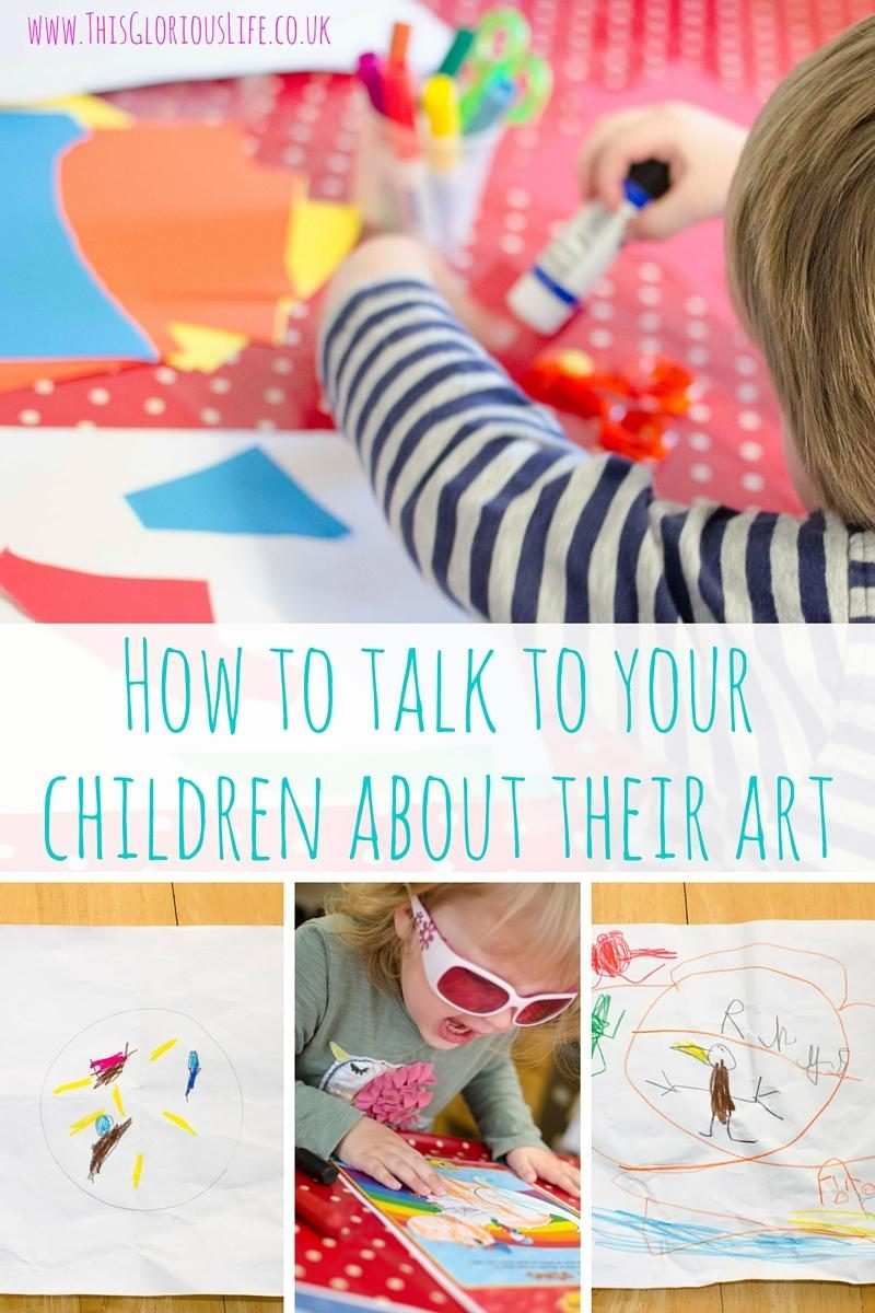 How to talk to your children about their art