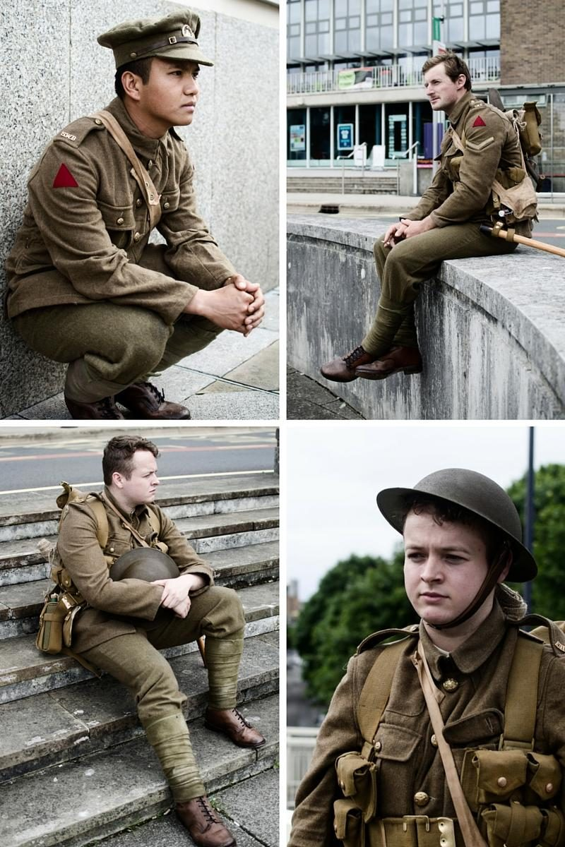 #wearehere soldiers tribute battle of the Somme