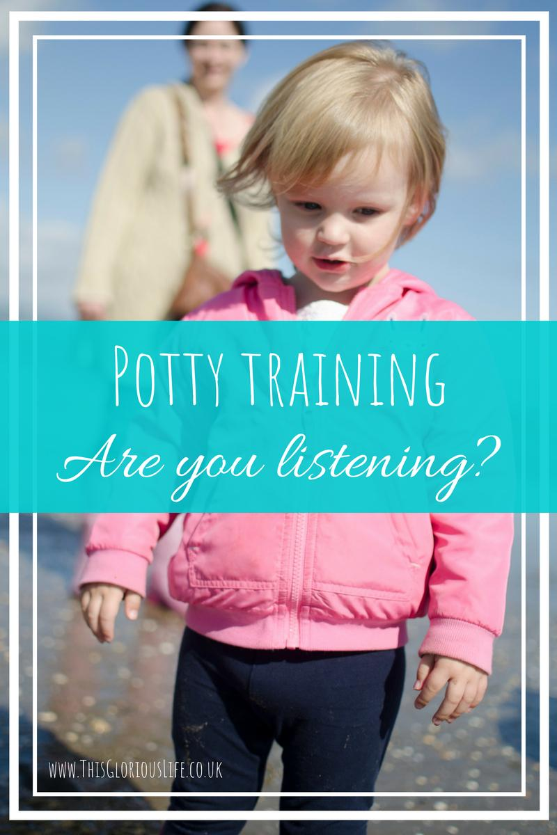 Potty training are you listening