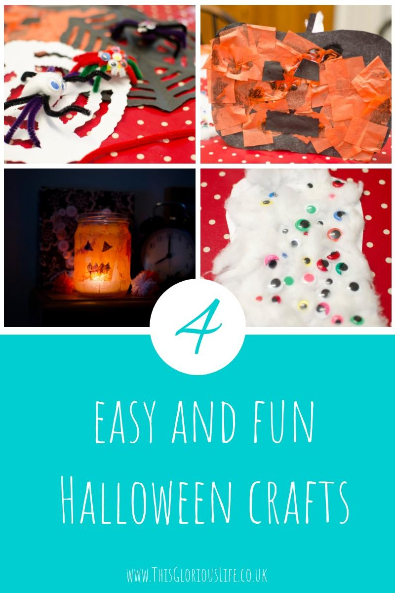 4 easy and fun halloween crafts