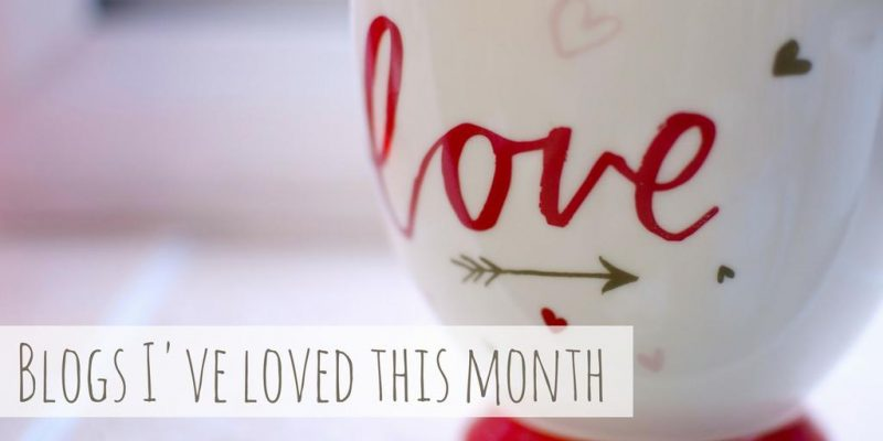 Blogs I've loved this month