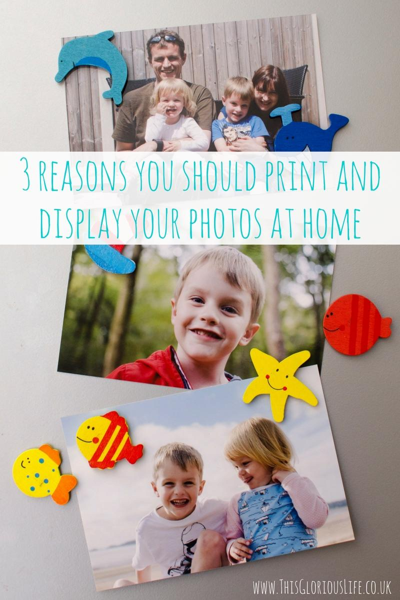 3 reasons you should print and display your photos at home