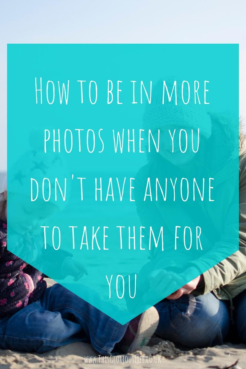 How to be in more photos