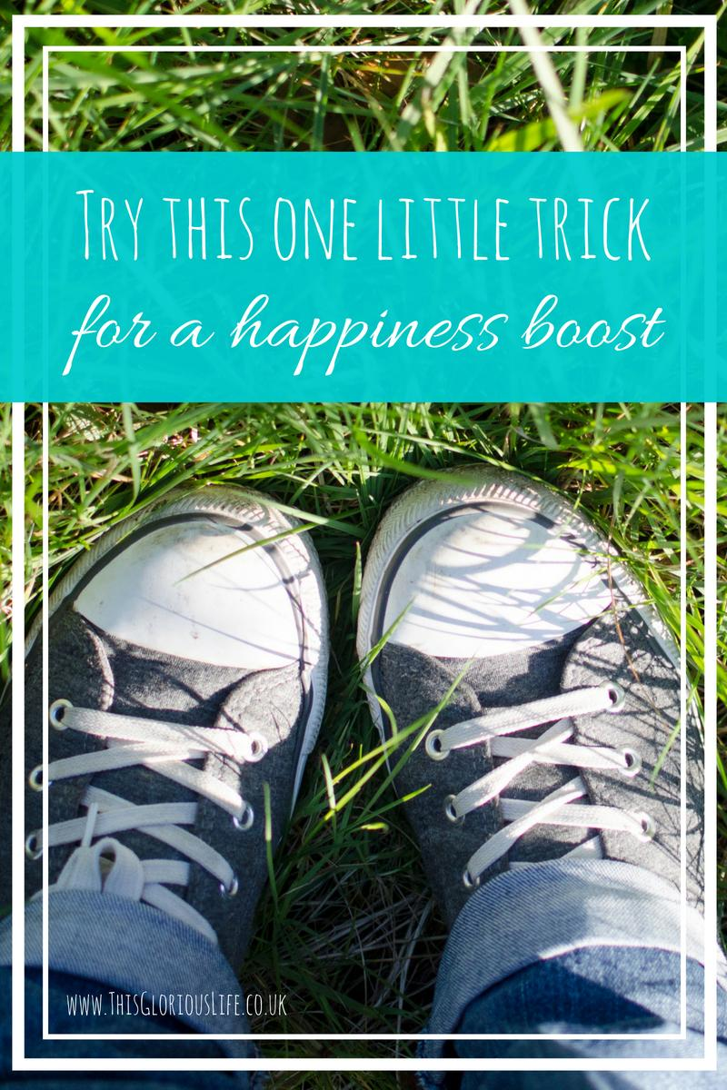 Try this one little trick for a happiness boost