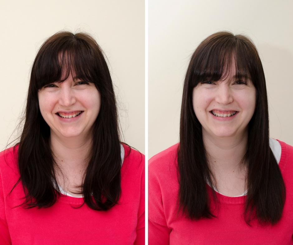 lee stafford academy straighteners before and after