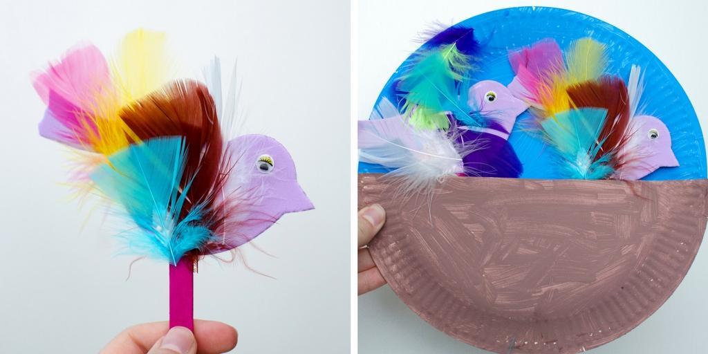 springtime bird craft twitter