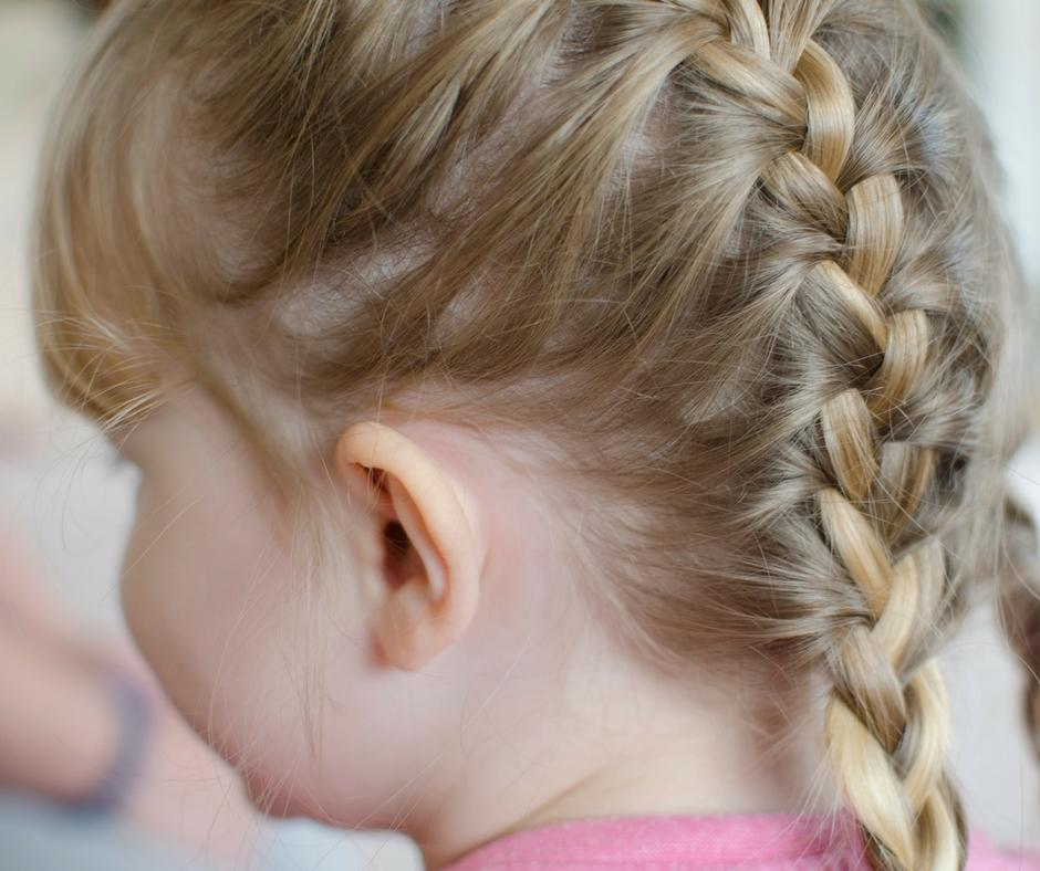 living arrows french plait