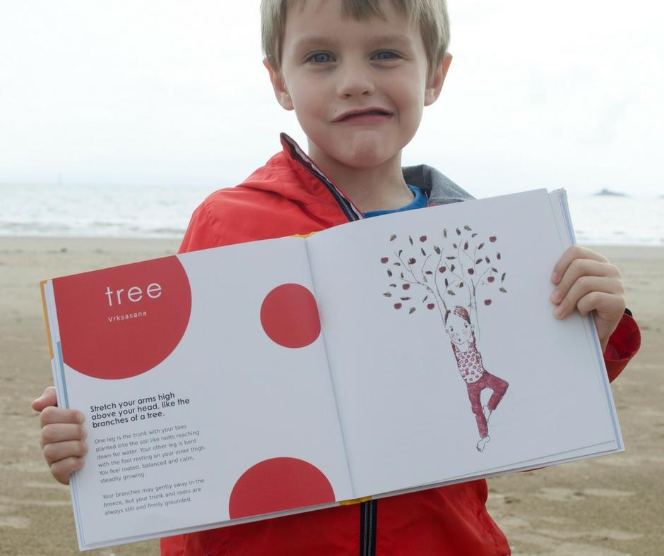 childrens yoga book review tree pose