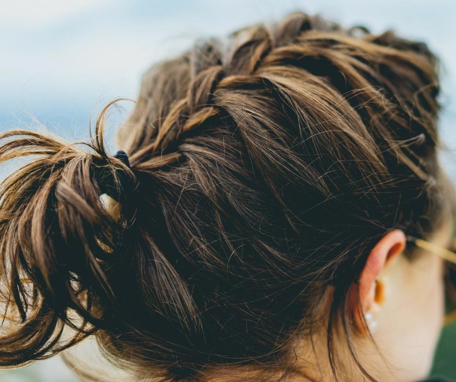 autumn winter hair plait
