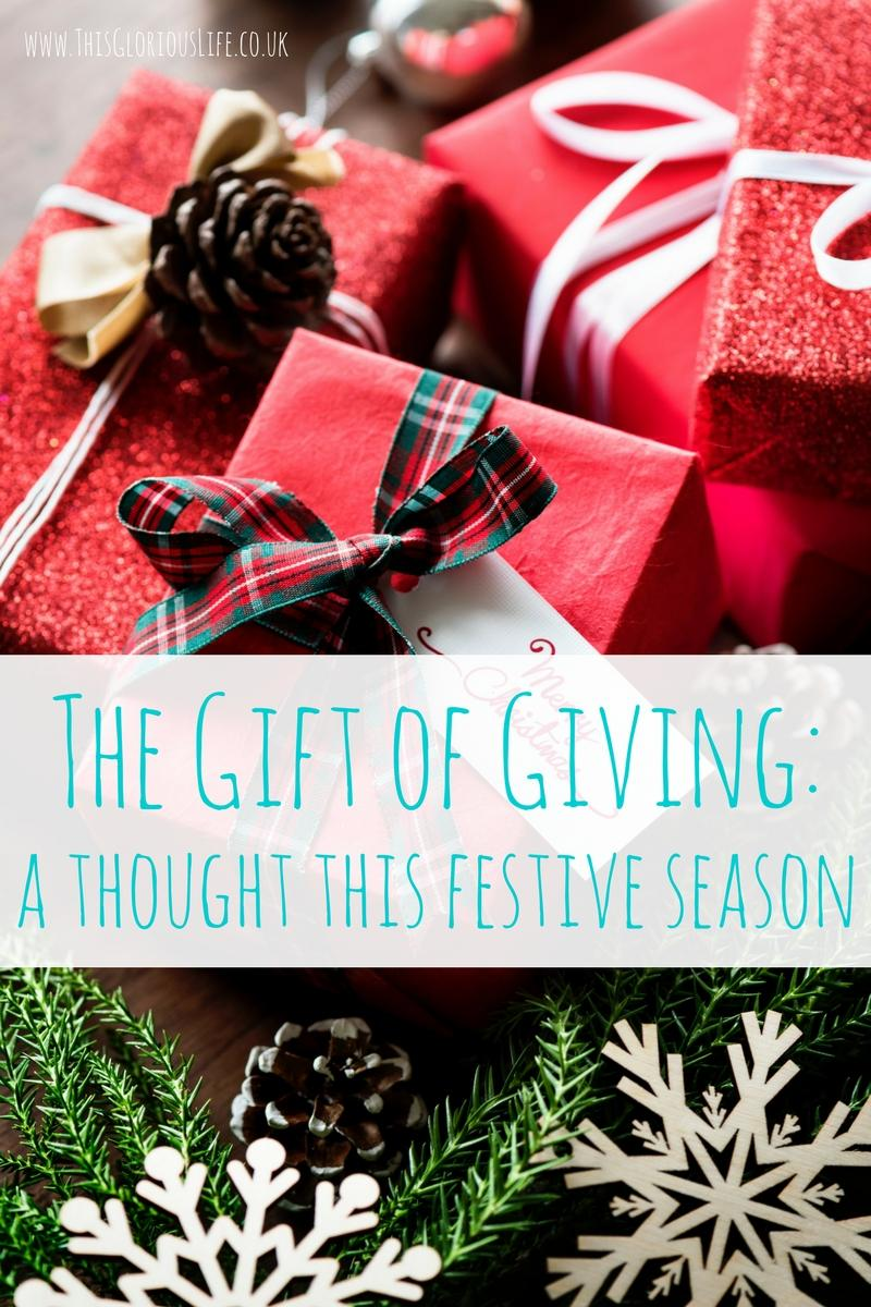 The Gift of Giving_ a thought this festive season