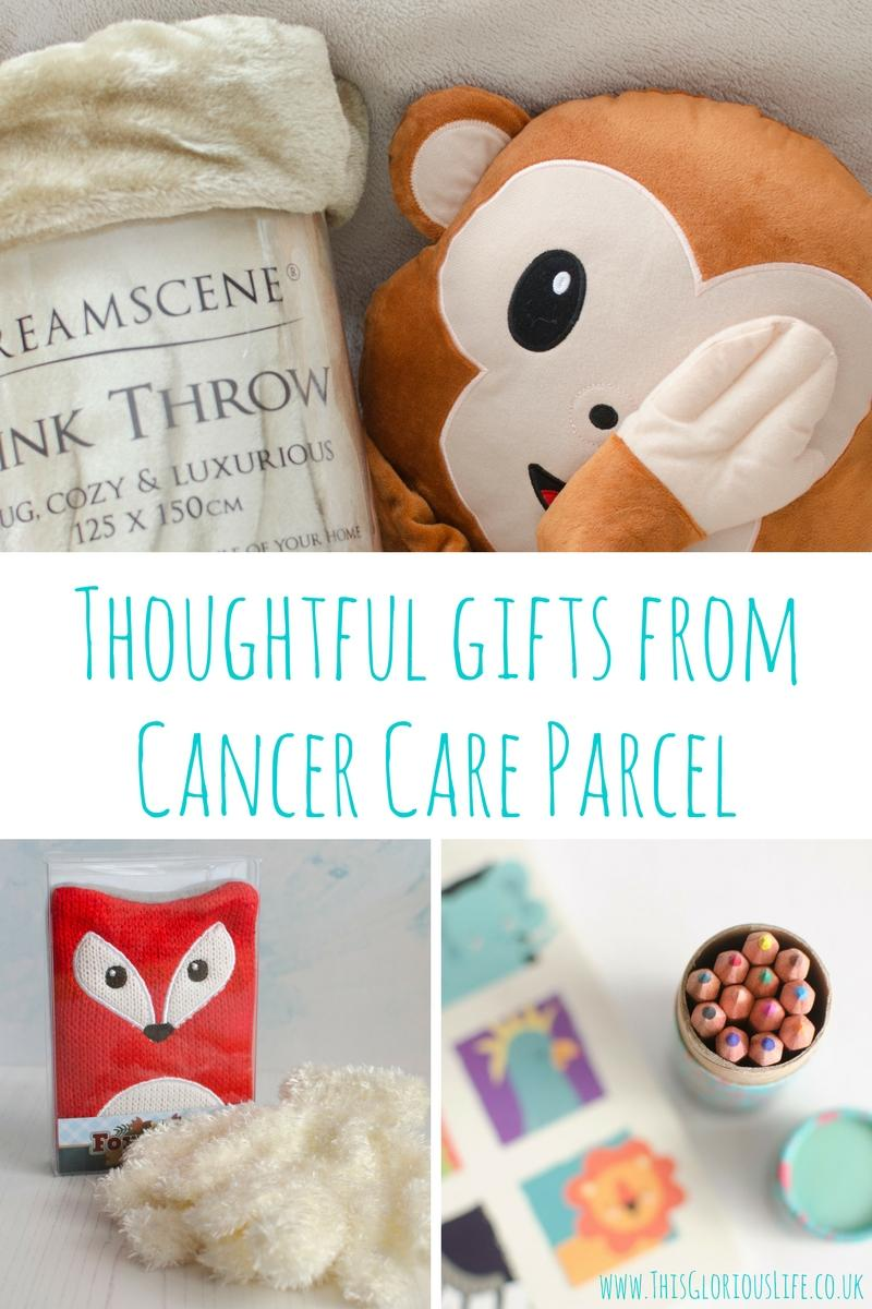 Thoughtful gifts from Cancer Care Parcel
