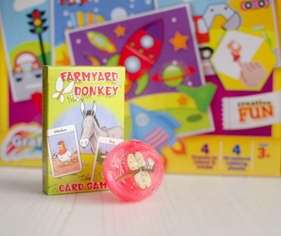 cancer care parcel fun and games