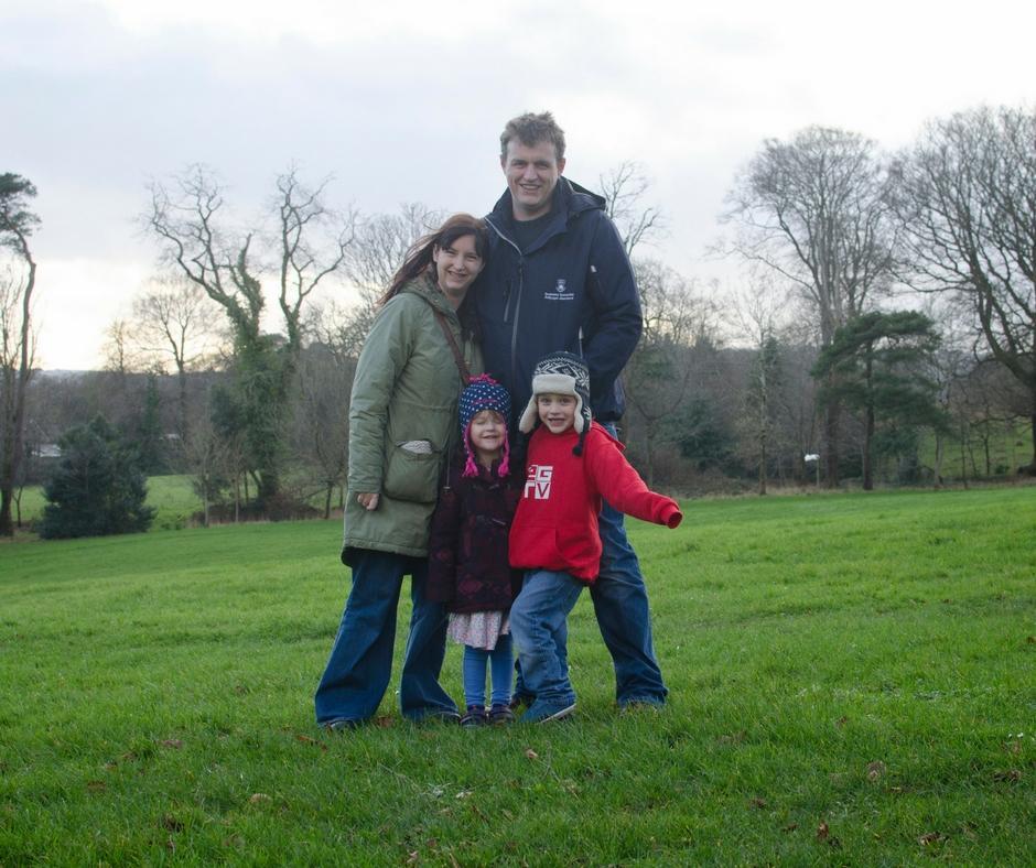 me and mine family photo Singleton Park Swansea