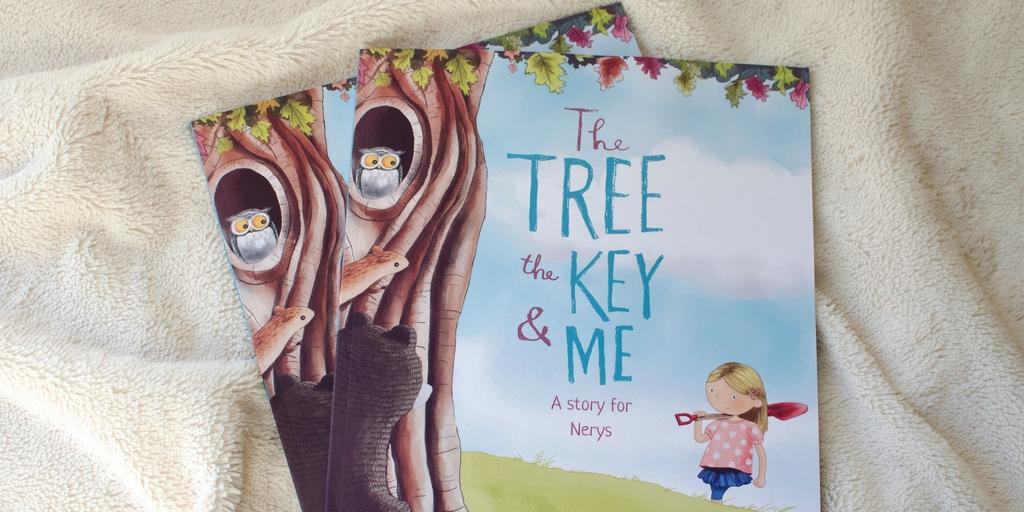 personalised books librio tree key and me