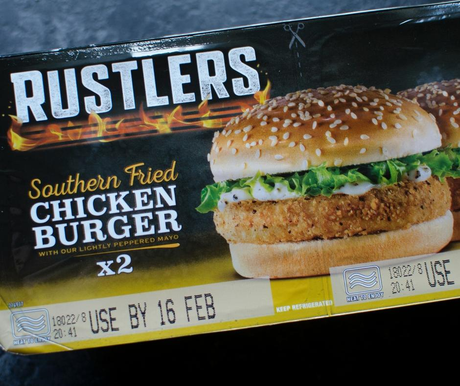 rustlers southern fried chicken burgers