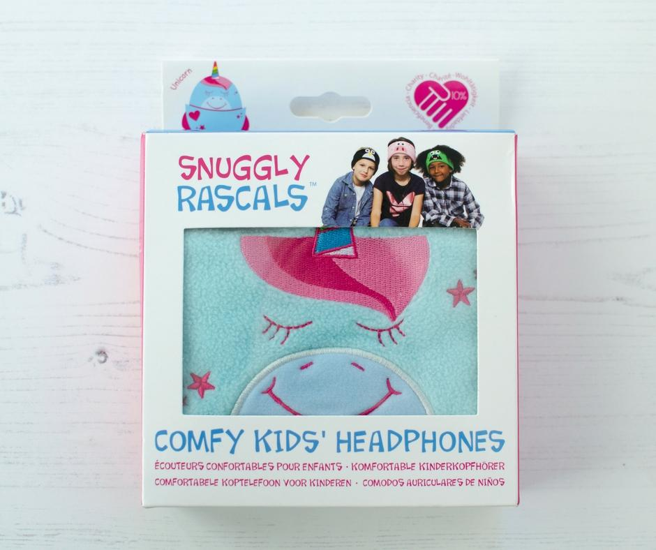 snuggly rascals headphones in box