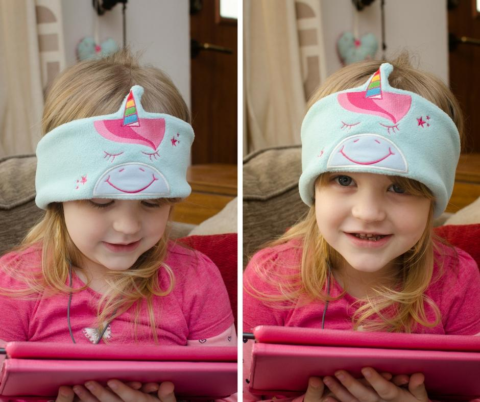 snuggly rascals headphones unicorn