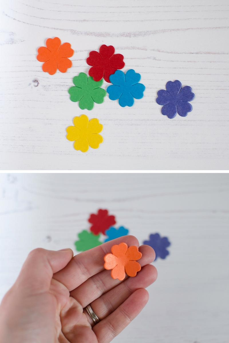 simple fun 3d flower picture