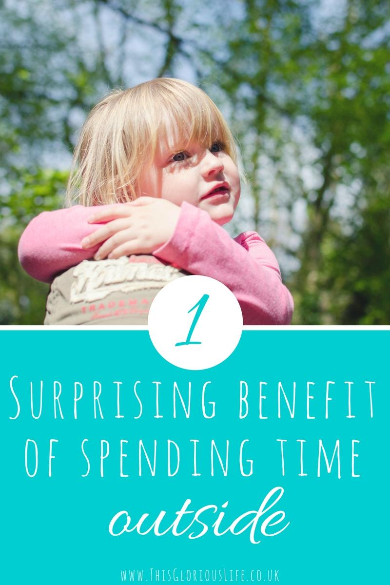 surprising benefit of spending time outside