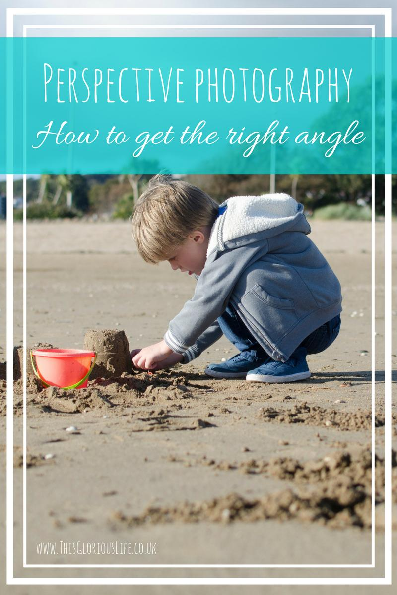 Perspective photography how to get the right angle