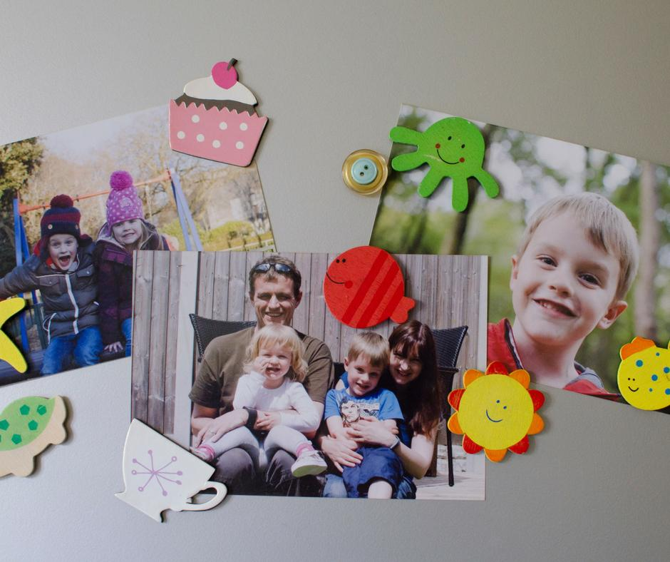Fun ways to display your photos at home in the kitchen