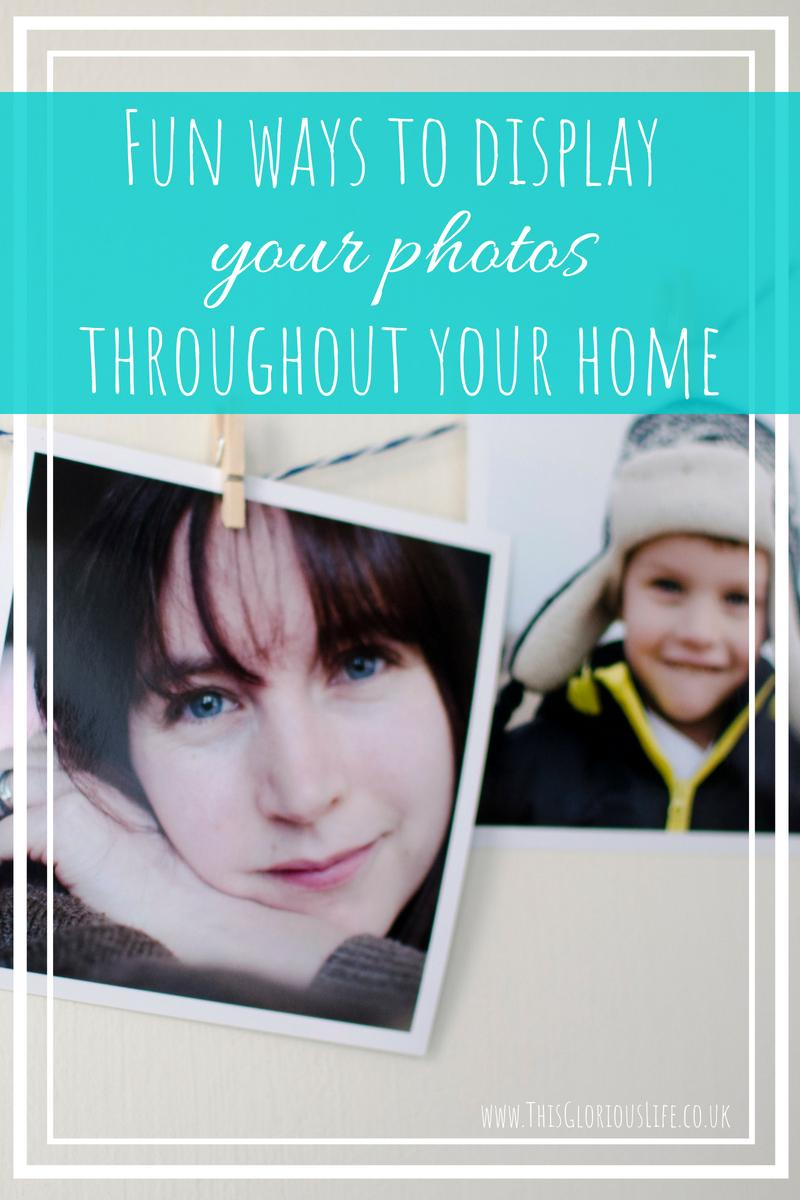 Fun ways to display your photos throughout your home