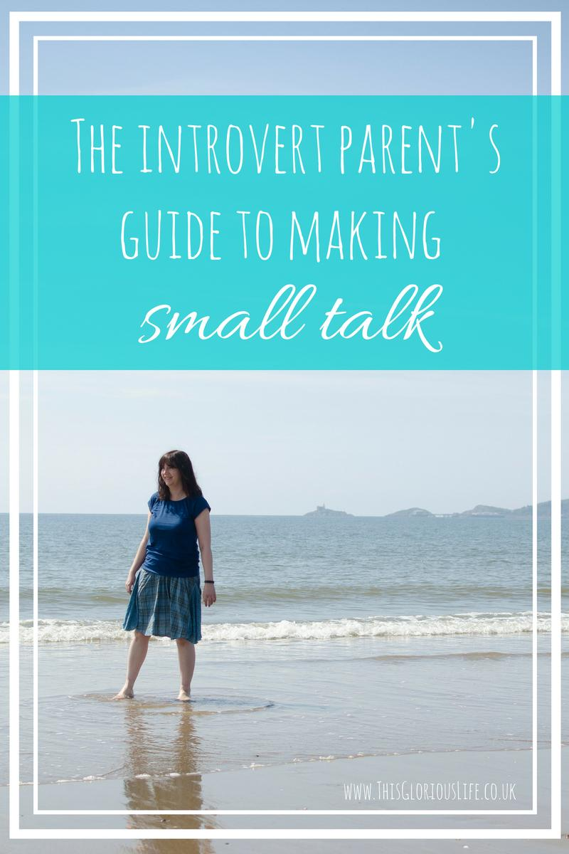The introverted parent's guide to making small talk