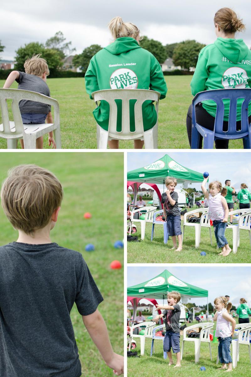 Family fun day boules Dunvant Park ParkLives