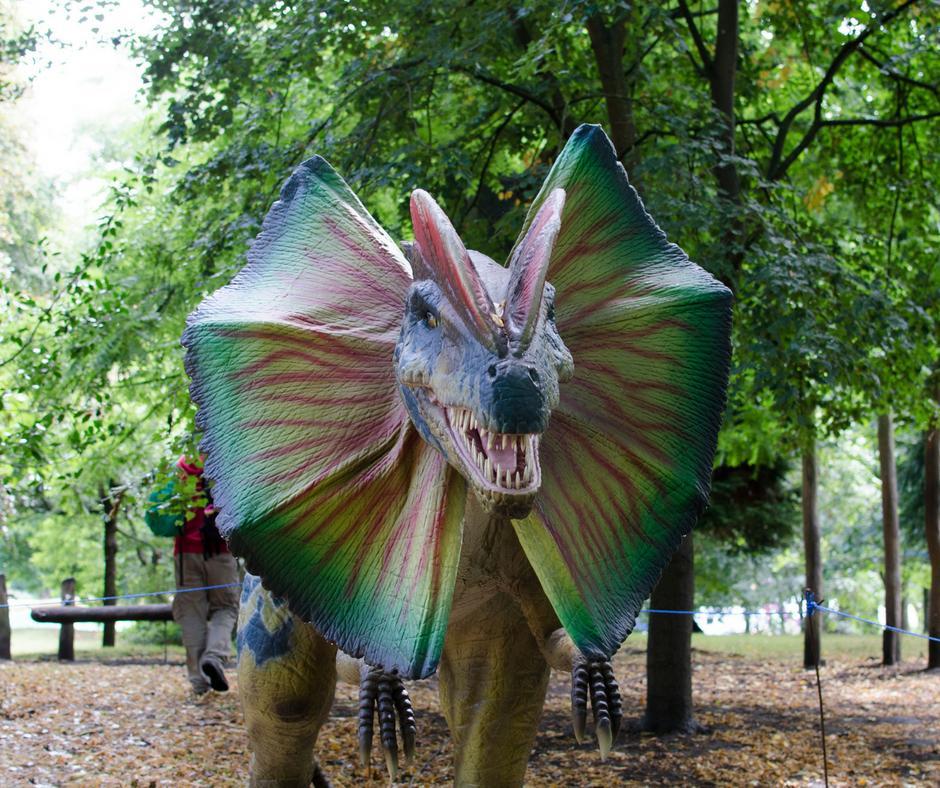Jurassic Kingdom dinosaur event Cardiff Bute park