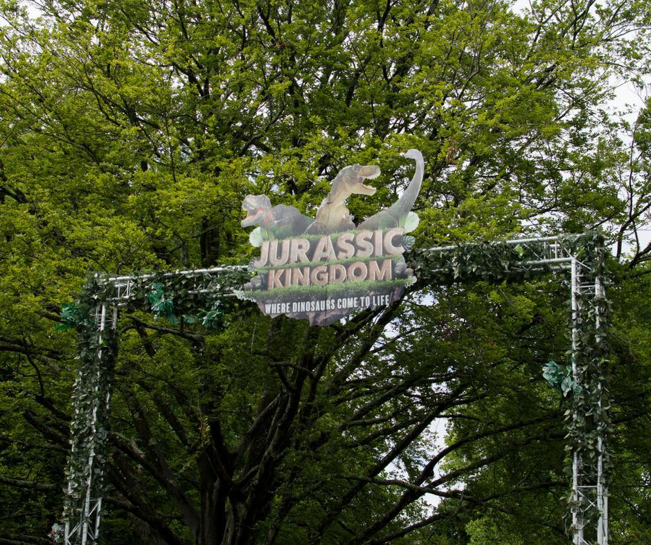 Jurassic Kingdom dinosaur event Cardiff
