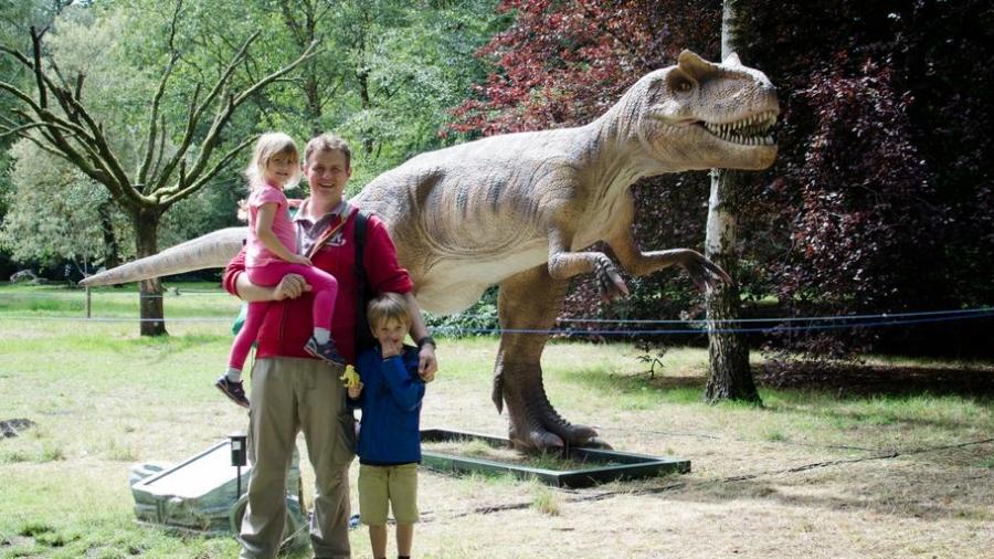 Jurassic kingdom Cardiff