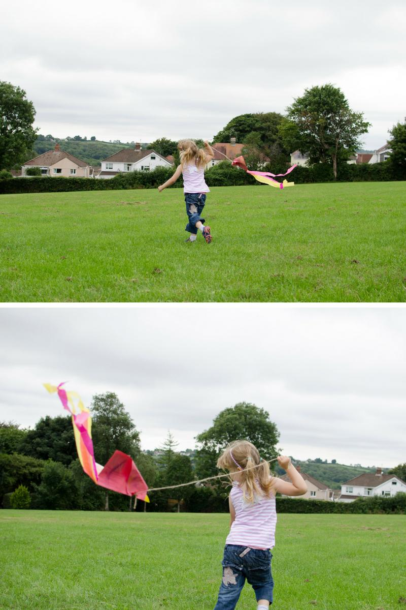 Kite making and flying family fun ParkLives Swansea