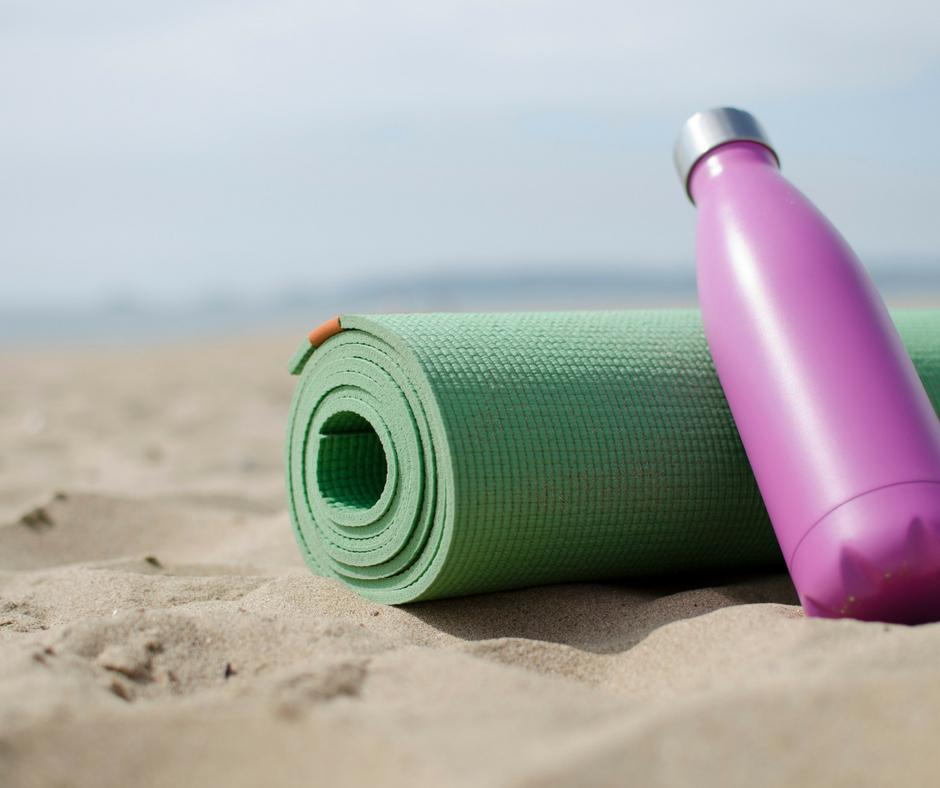 Swansea bay beach yoga ParkLives
