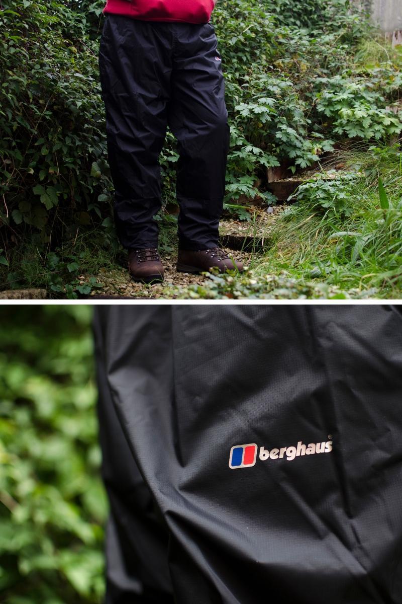 Berghaus men's waterproof trousers