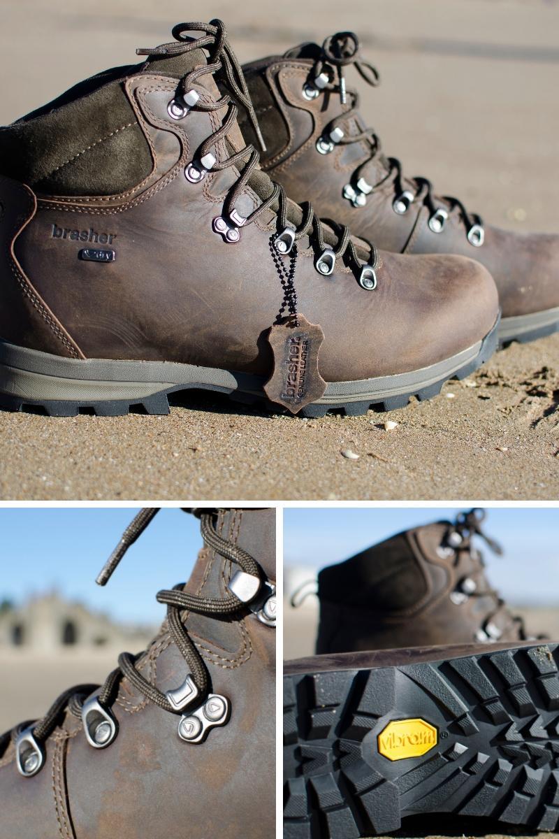 Brasher mens boots