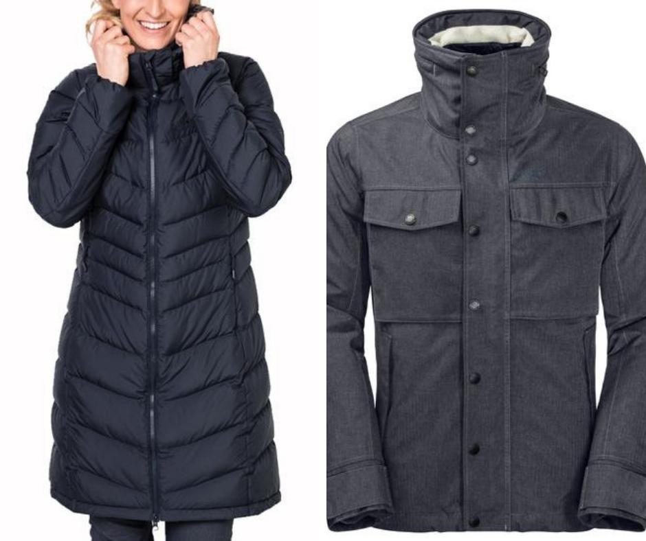 Jack Wolfskin men and womens coats