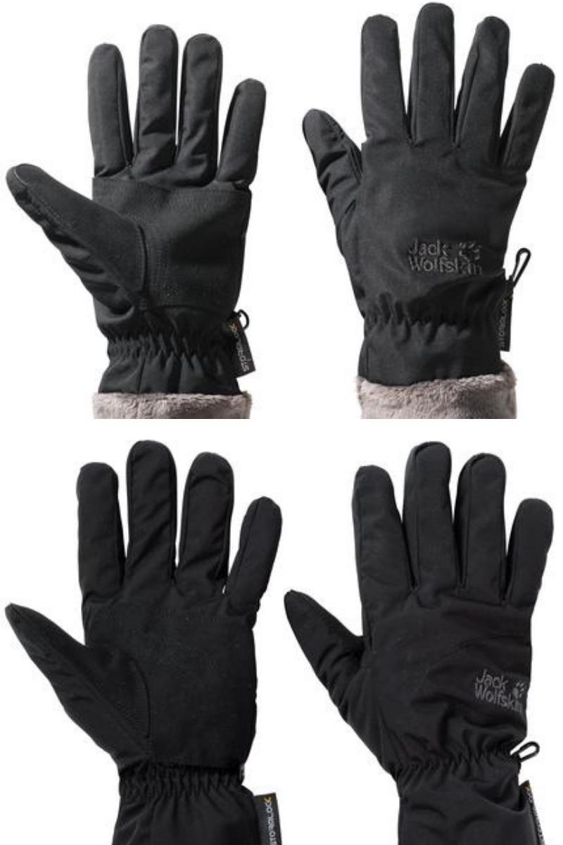 Jack Wolfskin men and womens gloves