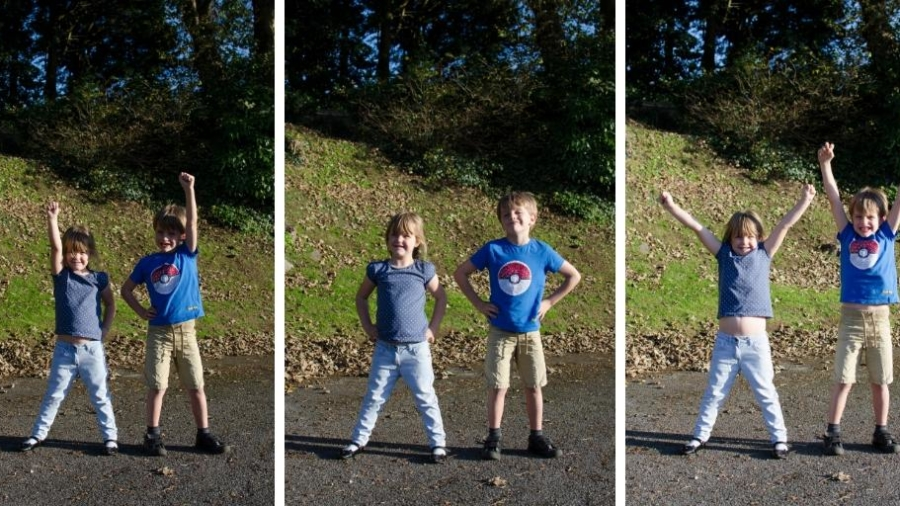 Power poses to boost children's confidence