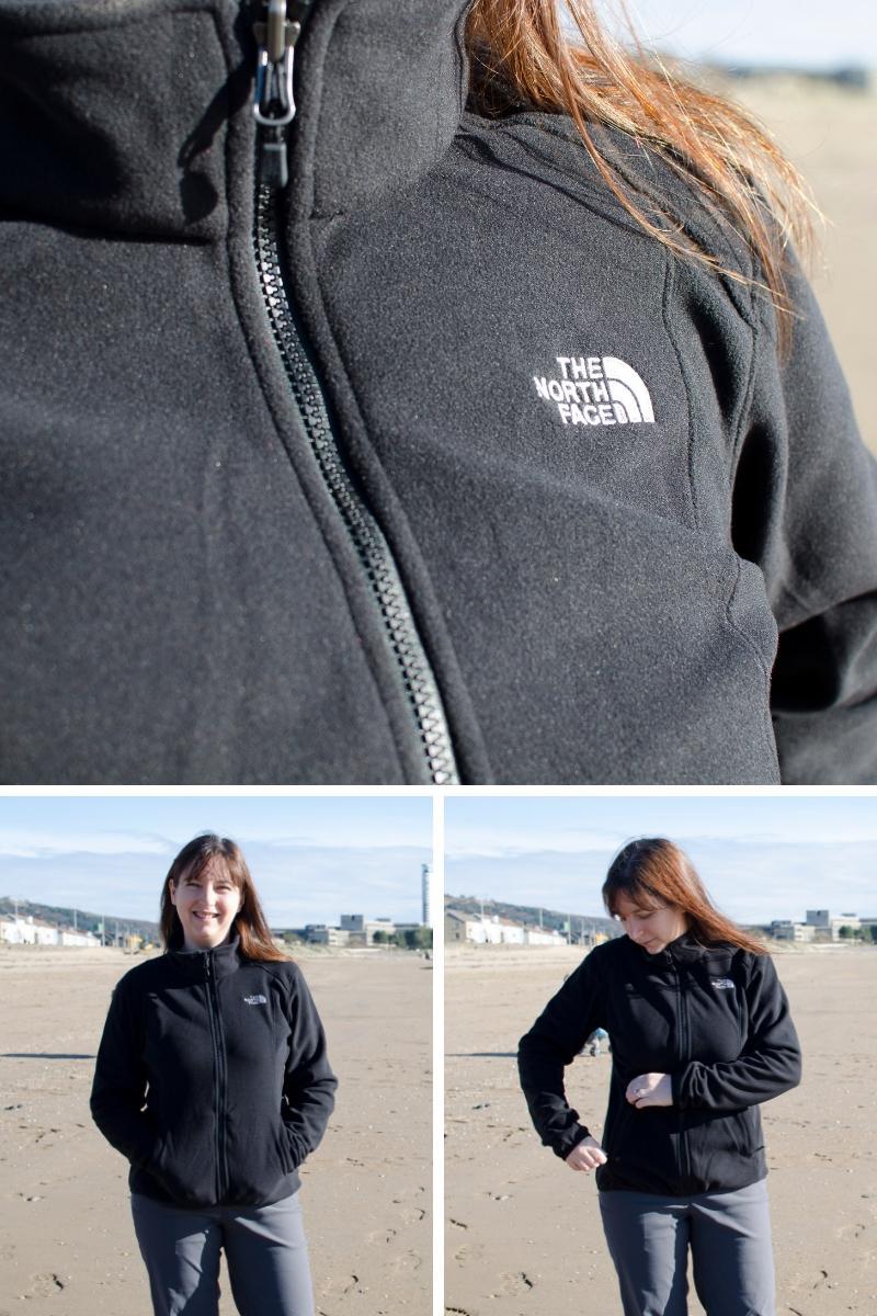 The north face women's coat inner fleece